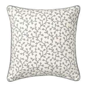 Cuscini Grigi.Ikea Lungort Fodera Per Cuscino Grigio Bianco 50x50 Cm Ebay