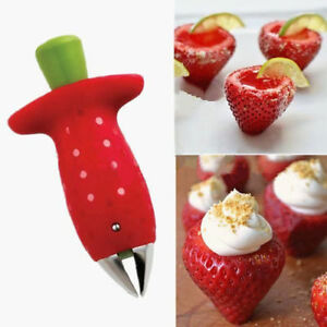 Strawberry-Berry-Stem-Gem-Leaf-Huller-Remover-Fruit-Corer-Slicer-Cutter-SplitJN