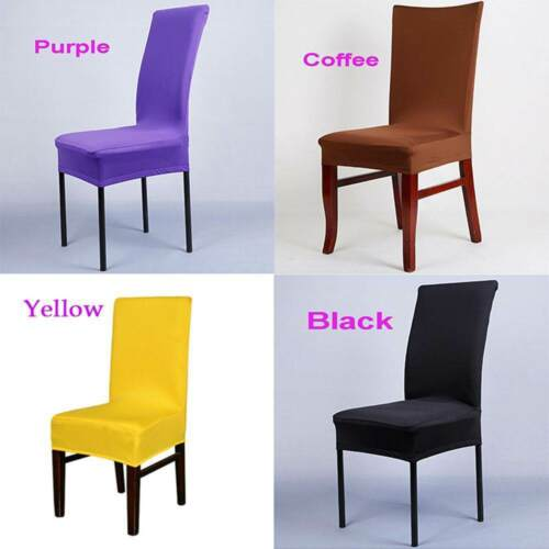 1Pc Removable Elastic Stretch Banquet Washable Chair Covers Wedding Party