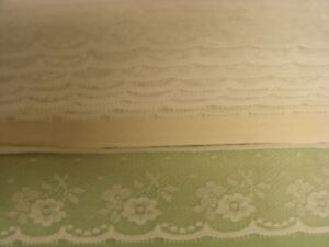Flat Lace White - 10 metres (332)