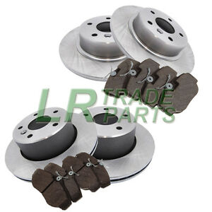 LAND-ROVER-DISCOVERY-2-TD5-amp-V8-FRONT-AND-REAR-BRAKE-DISCS-AND-MINTEX-BRAKE-PADS
