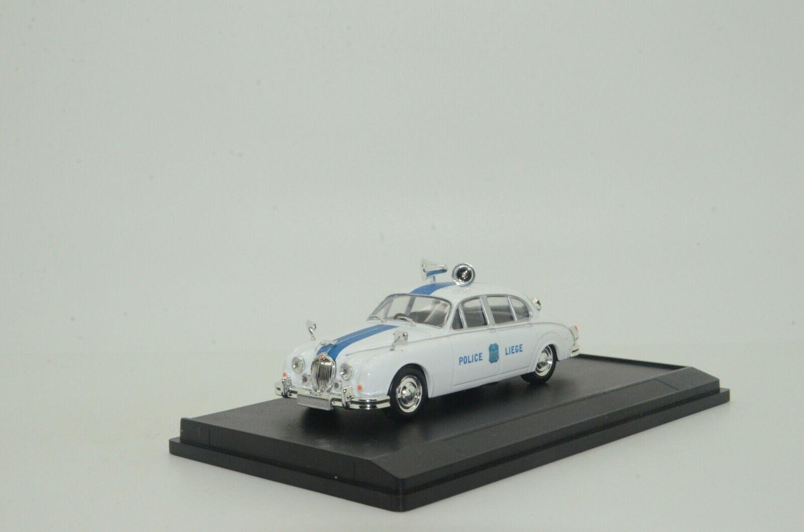 tienda hace compras y ventas   Raro  Jaguar MK MK MK II POLICE Liege Bélgica Hecho a Medida 1 43  barato y de alta calidad