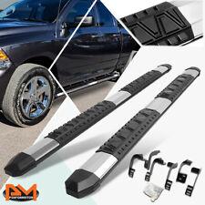 For 09 20 Dodge Ram Extended Cab Aluminum 5 Side Step Nerf Bar Running Board Fits Dodge Ram 1500
