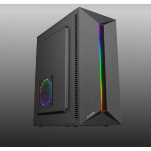 CASE ATX PER PC ALANTIK CASA63 ALIMENTATORE 500W USB 2.0 FAN 12CM