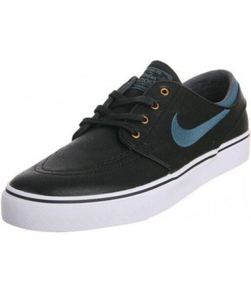 Nike zoom stefan janoski prem nera notte elemento metallico (d) (356), scarpe da uomo