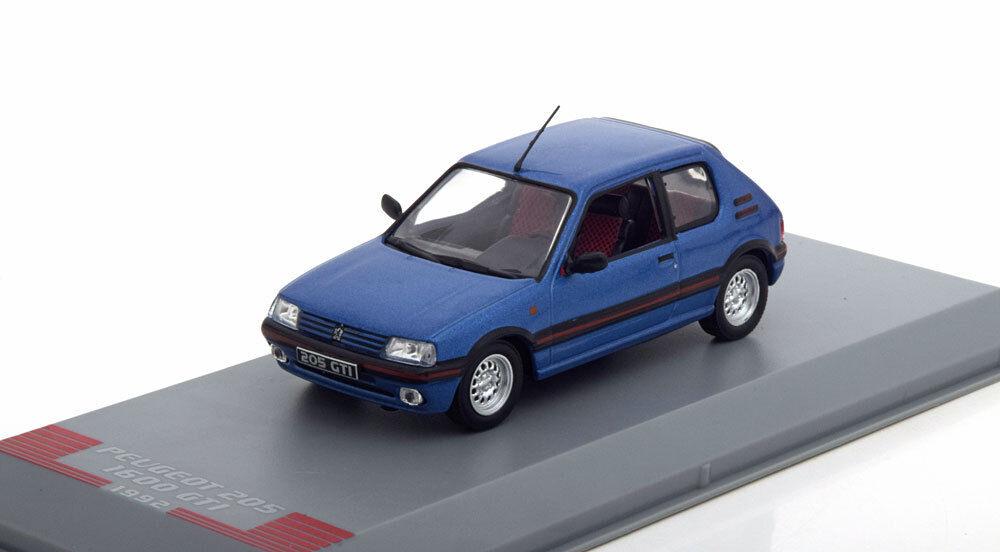PEUGEOT 205 GTI GTI GTI 1.6 1600 BLCOLLECTION 217472 1 43 blue blueE 93529c