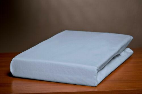 Spannbettlaken 200x200 cm Weiß Jersey 100/% Baumwolle uni Betttuch mit Gummi Neu