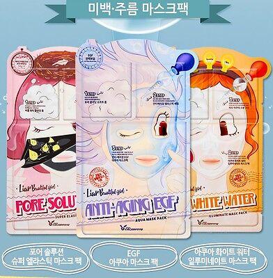 Elizavecca Pore Solution Super Elastic Mask Pack 5 ea Brand New Free Shipping