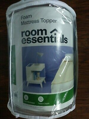 Room essentials dorm bed mattress topper twin xl by Target new nwt