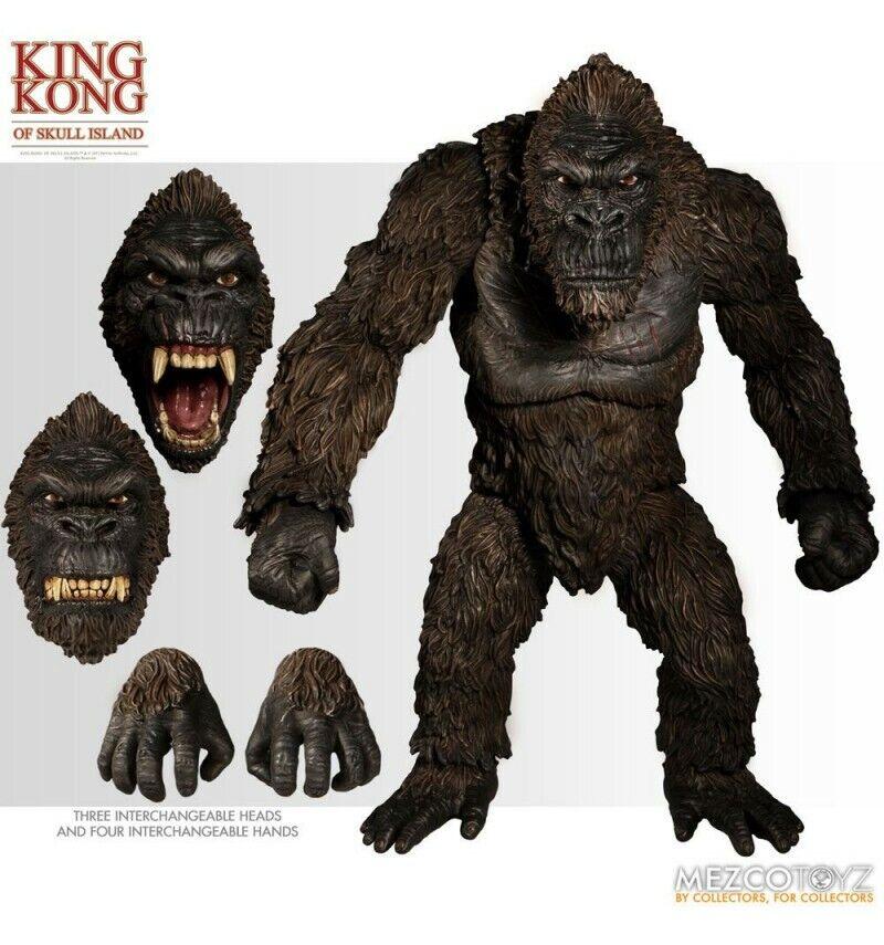 Mezco - King Kong - Figürchen Of Schädel Island - Ultimate Version 45 CM