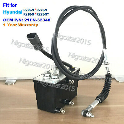 ACCEL ACTUATOR 21EN-32340 for Hyundai R225-9,R275-9 R210-9,R225-9T and others