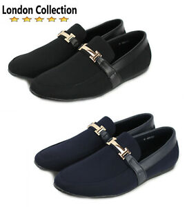 5012c242c88 Details about Mens Smart Casual Slip On Shoes Boat Deck Loafers Comfort  Driving Moccasins UK