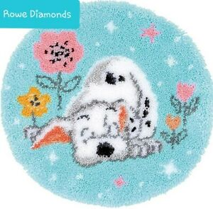 DIY-Disney-039-s-101-Dalmation-Puppy-Cute-dog-Make-a-Latch-Hook-Rug-Unique-Gift-UK