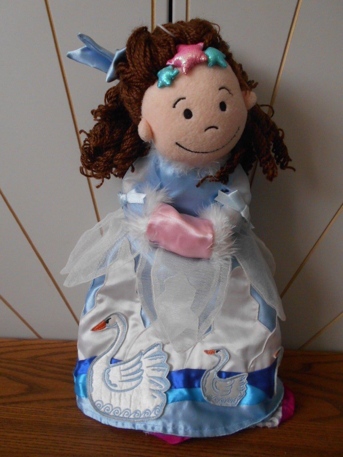 FAIRYTALE FOLK SNOW QUEEN soft toy Topsy Turvy Doll JELLY CAT Jellycat J357