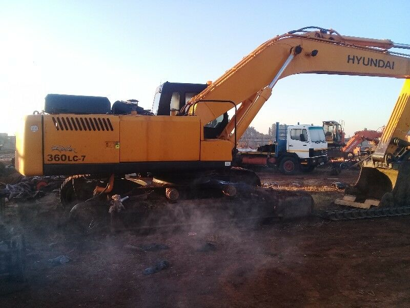 Excavator spares and parts for hitachi, bell, sany, volvo | Benoni