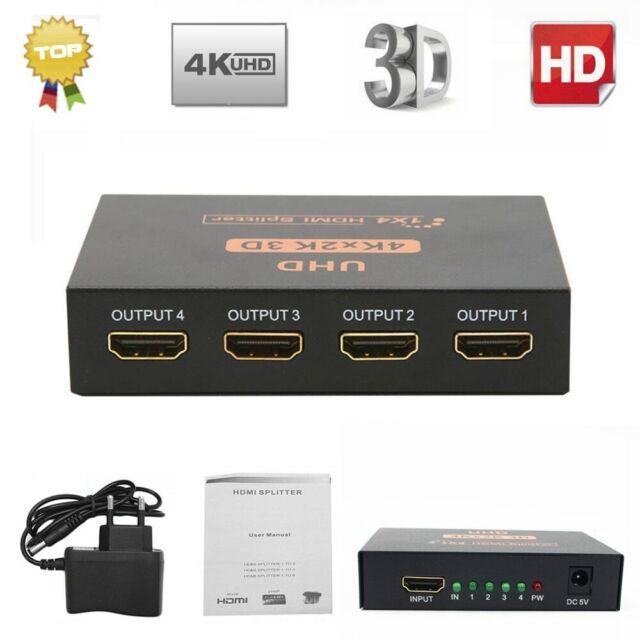 HDMI 8x1 Multi-viewer Quad Screen Seamless Splitter HD Transferring 4K 1080P 2K