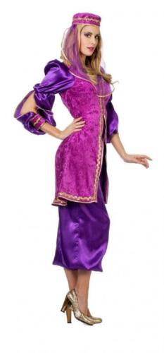 1001 NOTTE ABITO COSTUME DA DONNA BOLLYWOOD Orient bambolina ali Baba principessa Sari