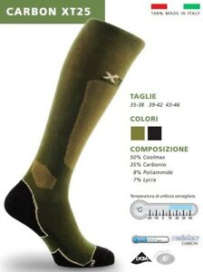 Sock Thermal X-TECH Carbon XT25