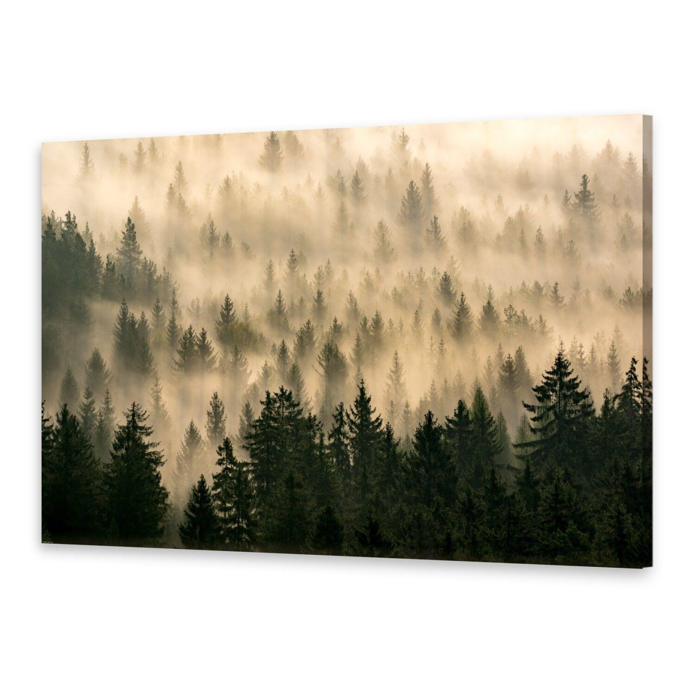 - Tela Immagini Immagine Parete stampa su canvas stampa d'arte foresta autunnale