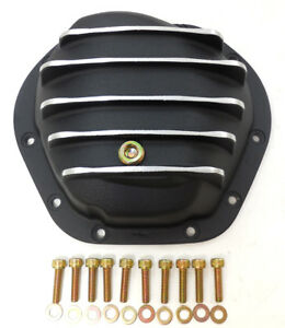 Dana-44-Differential-Cover-Kit-10-Bolt-Aluminum-Chevy-GM-Ford-Dodge-Black-Paint