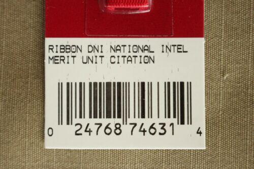 DNI NATIONAL INTELLIGENCE MEDAL AWARD RIBBON MERITORIOUS UNIT CIT NO MOUNT 405