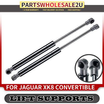 SET 2000 To 2006 Jaguar XKR Coupe 2 Pieces Tuff Support Rear Hatch Lift Supports 1997 To 2006 Jaguar XK8