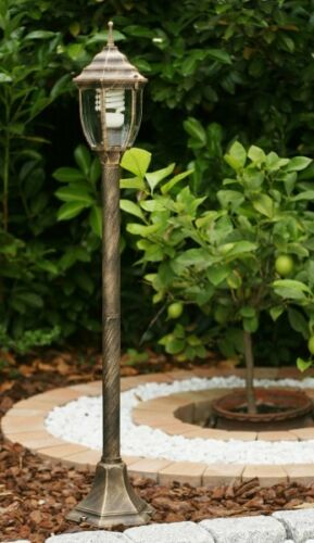 Außenlampe Außenleuchte Sockelleuchte Gartenlampe Pollerleuchte Wegeleuchte 338