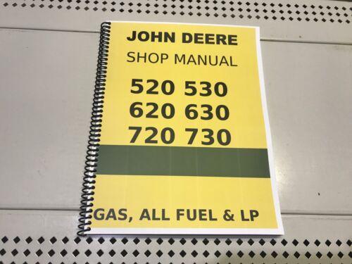 620 Gas All Fuel LP John Deere Technical Service Manual