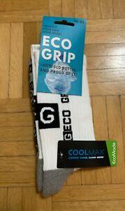 "TOP Grip Socks, COOLMAX® ""Eco Grip"" Sportfunktionssocken weiß Gr 36-41 NEU + OVP"