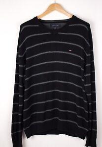 Tommy-Hilfiger-Herren-Freizeit-Pullover-Sweatshirt-Groesse-XL-ASZ715