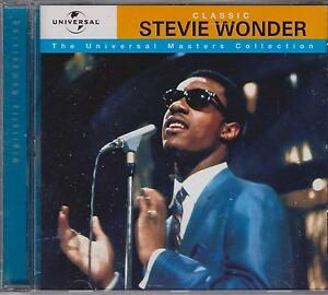 STEVIE WONDER - UNIVERSAL MASTERS  - CD - NEW -
