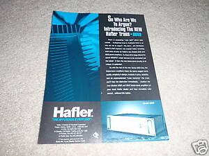 hafler model 9500 power amp ad from 1992 nice ebay. Black Bedroom Furniture Sets. Home Design Ideas