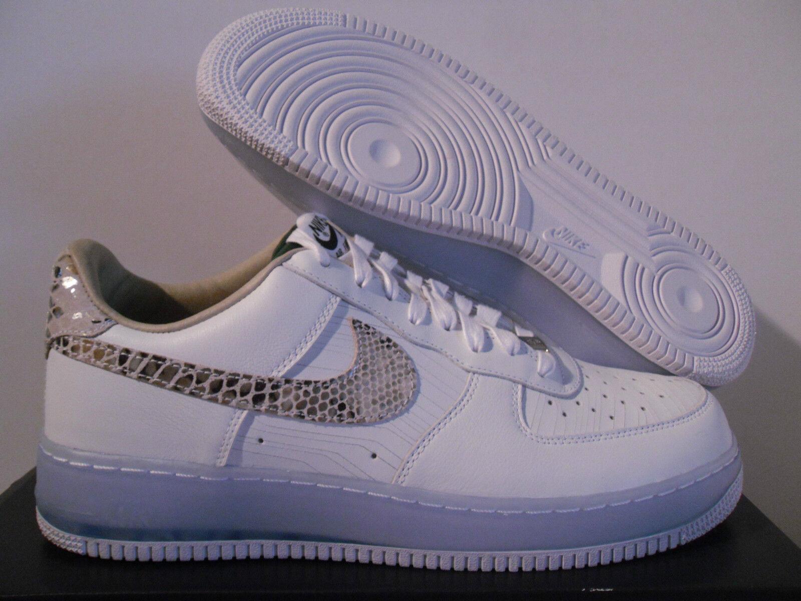 Nike edición Air Force 1 bajas edición Nike Premium CMFT Qs Brasil Talle 13 Raro!!! [635272-100] da30aa