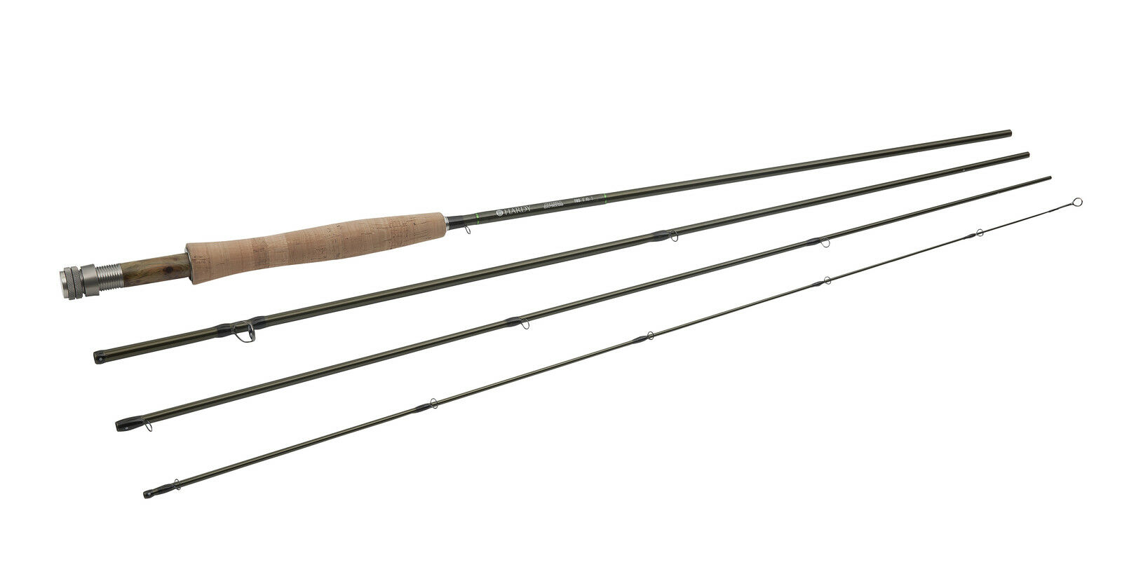 NEW HARDY 8644 ZEPHRUS FWS 8' 6  4 WEIGHT 4 PIECE FLY ROD FREE U.S. SHIPPING