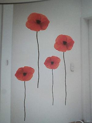 Blume Wandtattoo Wand Tattoo Wandsticker Raum Deko Wandtatoo Aufkleber