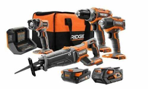 RIDGID R9226SBN 18V Brushless Cordless 4-Tool Combo Kit BRAND NEW !!!!!!