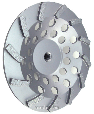 "7/"" Pro.Turbo Diamond Cup Wheel Concrete Stone Masonry Grinding 5//8-11-BEST"