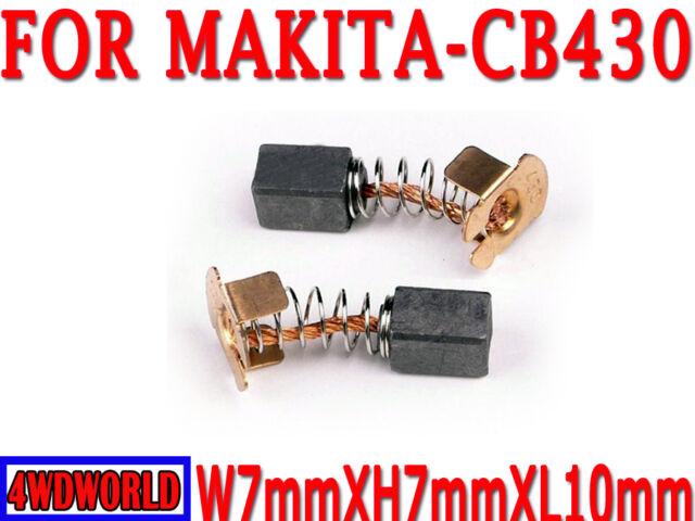 Carbon Brushes For Makita CB430 BHP460 BHR200 BGA452Z LXDG01 LXDG01Z Grinder OZ