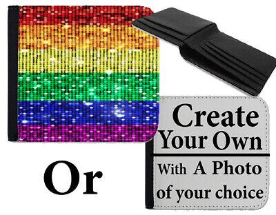 2019 Moda Portafoglio Pride Lgbt Arcobaleno Gay Lesbico Design Pattern Borsa Borsa Del Denaro Si138-mostra Il Titolo Originale