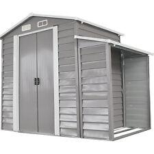 outdoor 8 x 5 backyard garden storage shed utility tool patio lawn buliding - Garden Sheds 8 X 5