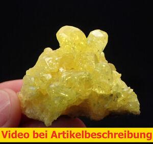 7190-Schwefel-hochglaenzende-Kristalle-Napa-Bolivien-ca-5-4-3-cm-MOVIE