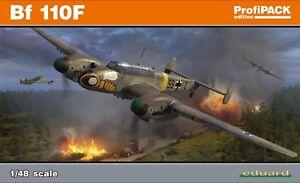 Eduard Profipack 1:48 Messerschmitt Bf 110f, Maquette d'avion