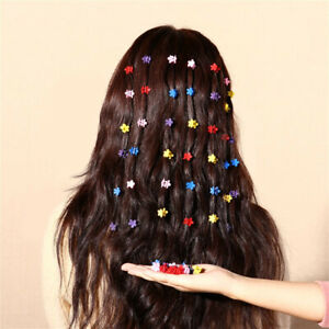 30PCS-Kids-Baby-Mixed-Color-Cute-Mini-Hair-Clips-Claw-Barrettes-Jaw-Clip-Hairpin