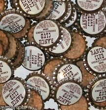 Soda pop bottle caps Lot of 25 KIST CHOCOLATE BEVERAGE cork lined new old stock