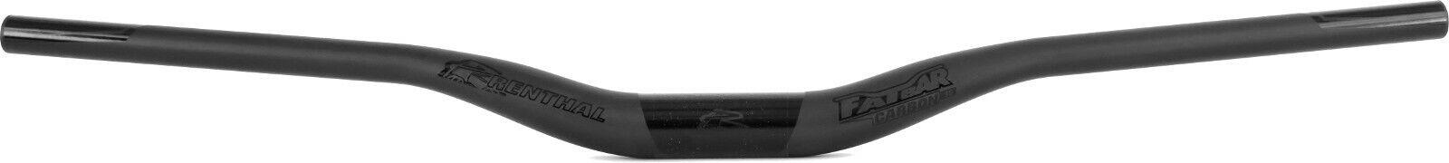 Renthal Fatbar 30mm Rise 35x800mm Carbon Stealth Ltd Ed MTB Handlebars