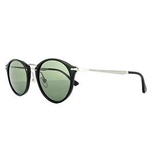 b3817e76e9807 Image is loading Persol-Sunglasses-3166-95-31-Black-Grey-Green