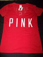 Victoria's Secret Pink Philadelphia Phillies Stealing Bases V-neck Shirt Med