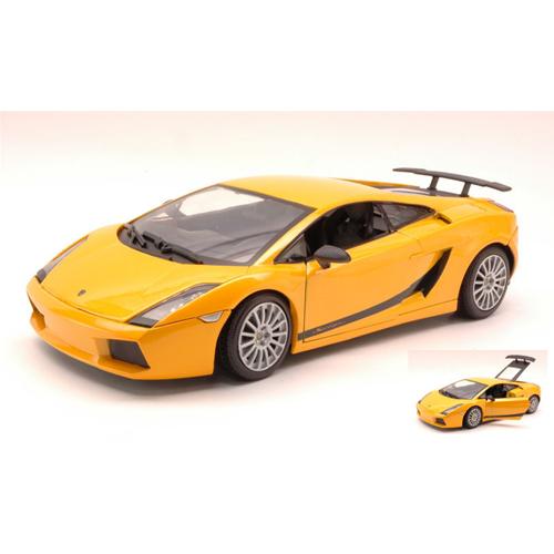 LAMBORGHINI LP560-4 METALLIC giallo 1:18 MotorMax Auto Stradali Die Cast