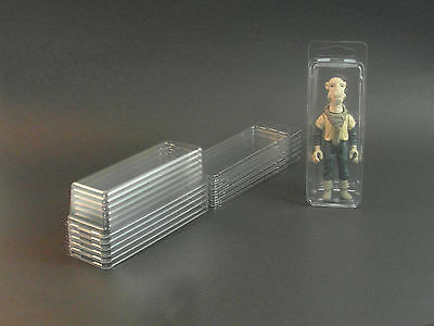 STAR WARS BLISTER CASE LOT OF 12 Action Figure Protective Clamshell Cases MEDIUM