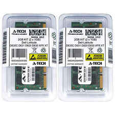 2GB KIT 2 x 1GB Dell Latitude D630C D631 D820 D830 XFR XFR D630 XT Ram Memory